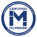 American Moving & Storage Association Logo, Certified ProMover